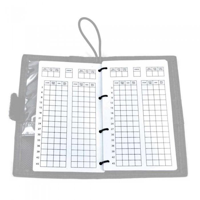 [해외]BEST DIVERS Refill Pages Wet Note Top with Table 10623027