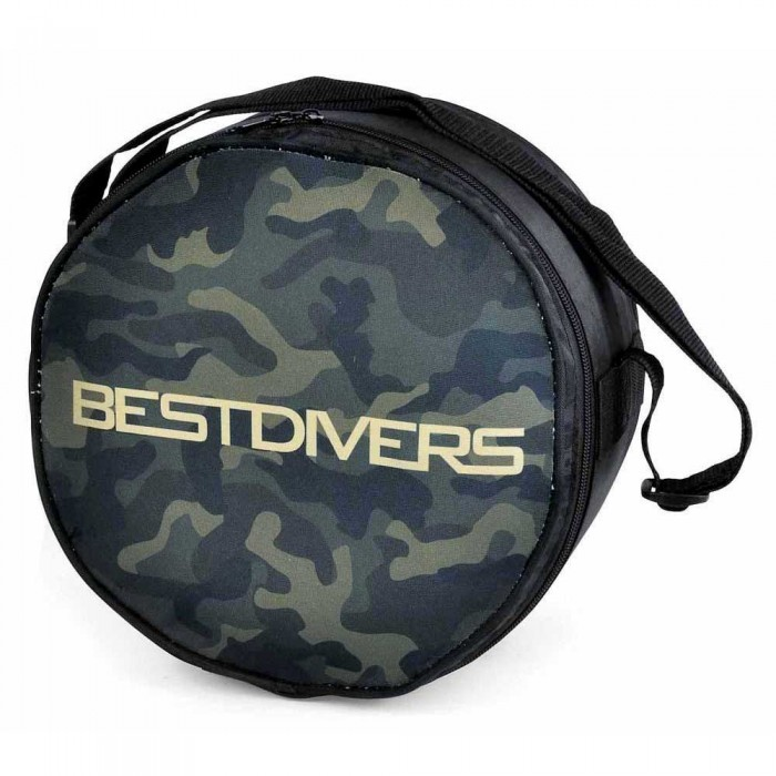[해외]BEST DIVERS Regulator Bag Round Mimetic Green 101229481