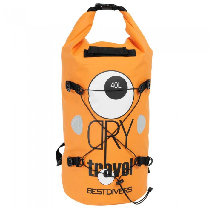 [해외]BEST DIVERS PVC Dry 40L 10137000800 Orange