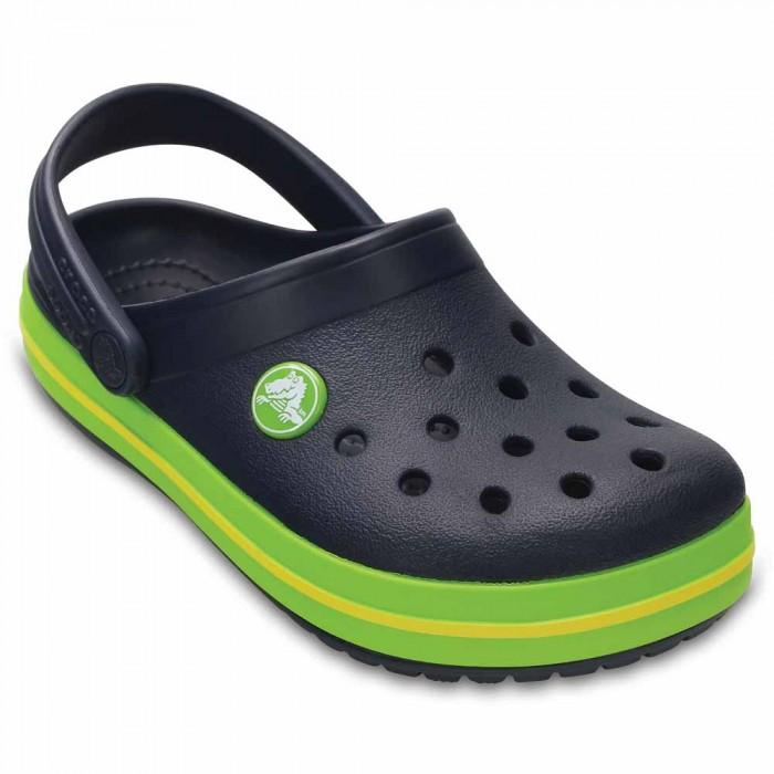 [해외]크록스 Crocband Clog 10136410146 Navy / Volt Green