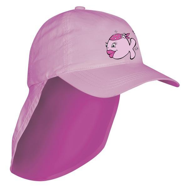 [해외]iQ-Company UV 200 Kids Cap & 넥 C앤드yfish Pink