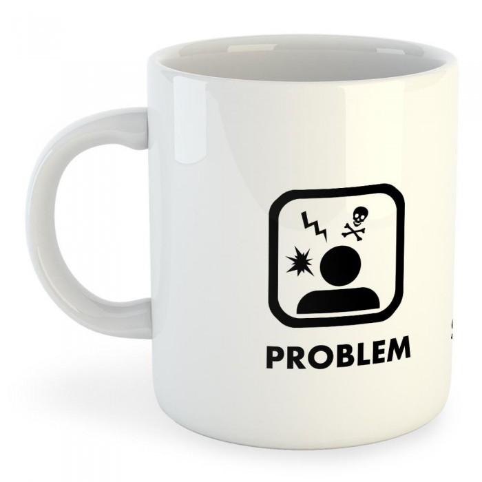 [해외]KRUSKIS Mug Problem Solution Spearfishing 325ml White