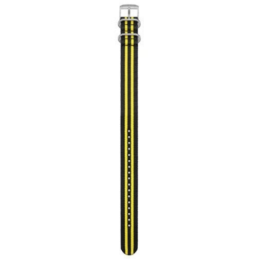 [해외]루미녹스 Webbing Strap Scott Cassell 3955.SET Black / Yellow / Steel