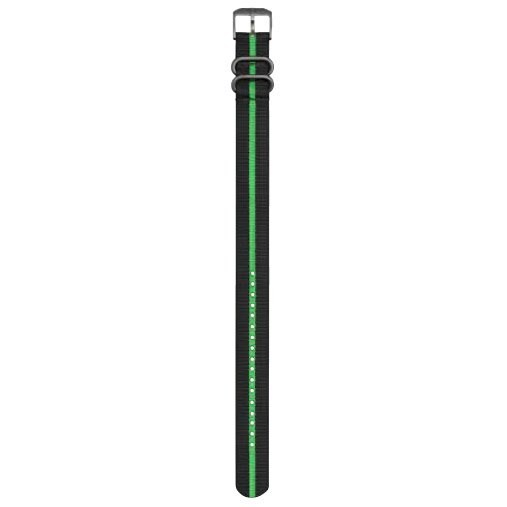 [해외]루미녹스 Webbing Strap 3000/3050/3080/3150/3180/8400 Black / Green / Black