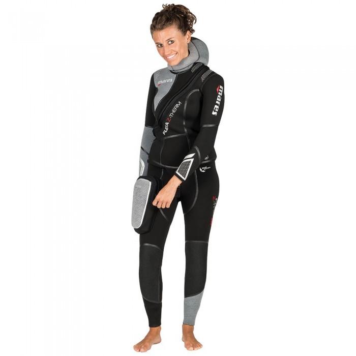 [해외]마레스 Flexa Z Therm She Dives 7 mm 10136794562 Black