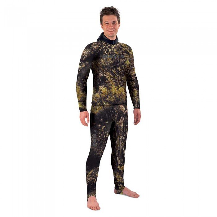 [해외]마레스 Rash Guard Illusion Pants 10136459050 Camouflage