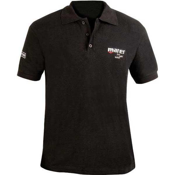 [해외]마레스 Short Sleeves Polo 105988 Black