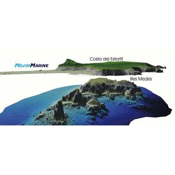 [해외]MOVINMARINE Illes Medes 3D Underwater Guide Spanish/English
