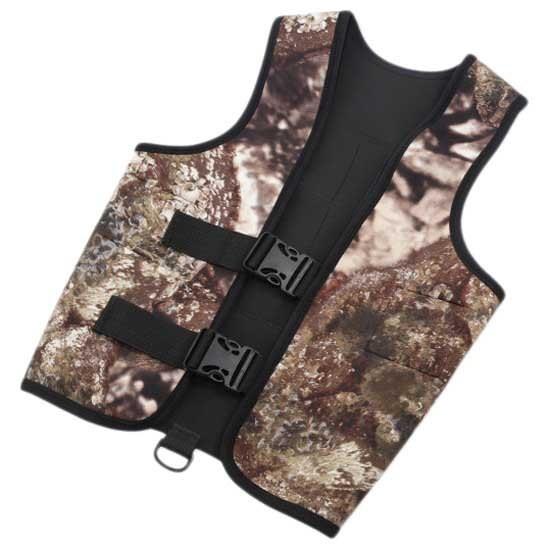 [해외]OMER Tortuga Marco Bardi Back Harness 3 mm 10137106625 Camo / Black