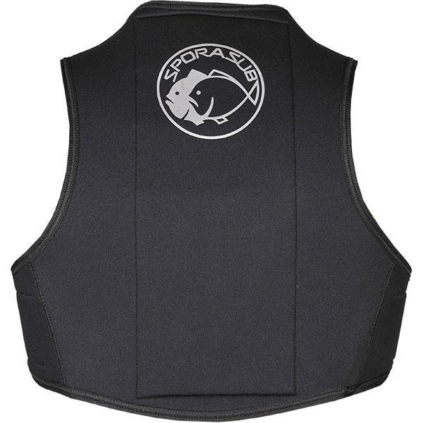 [해외]OMER Sporasub Quick Release Harness 3 mm 1014391 Black