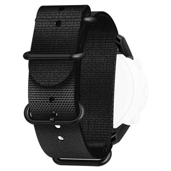 [해외]순토 D6i Novo Zulu Strap With Adapter Black