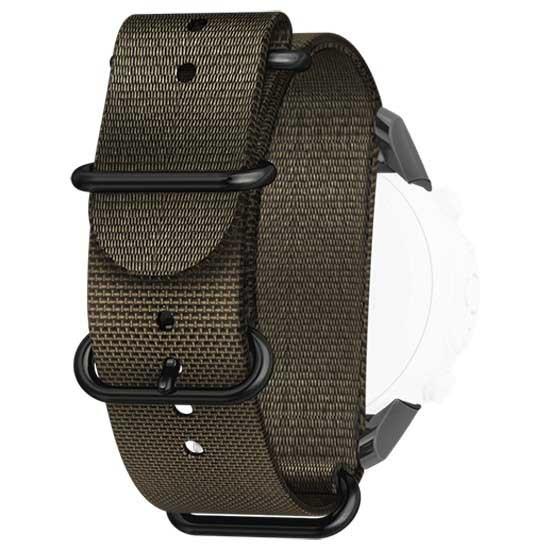 [해외]순토 D6i Novo Zulu Strap With Adapter Stealth