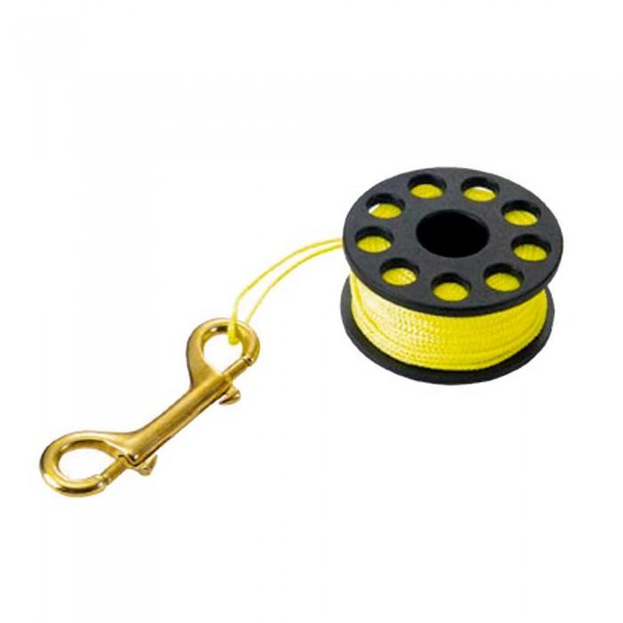 [해외]TECNOMAR Guide Reel with Bronze Carabiner 30 M