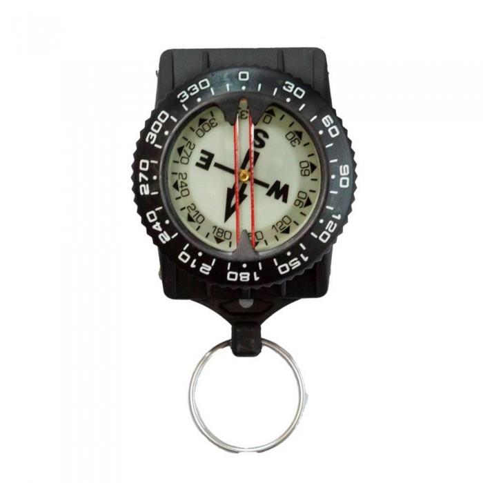 [해외]TECNOMAR Compass 위드 Inox Clip Black