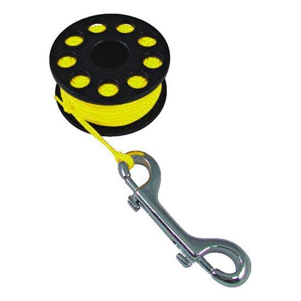 [해외]TECNOMAR Guide Reel With Double End Clip 10136450876 Yellow