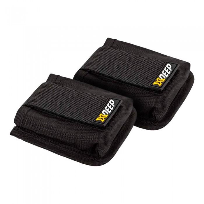 [해외]엑스딥 Backmount Trim Pockets 2 Units 10136806335 Black