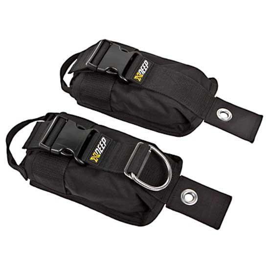 [해외]엑스딥 Weight Pockets 2 Units 10628960 Black