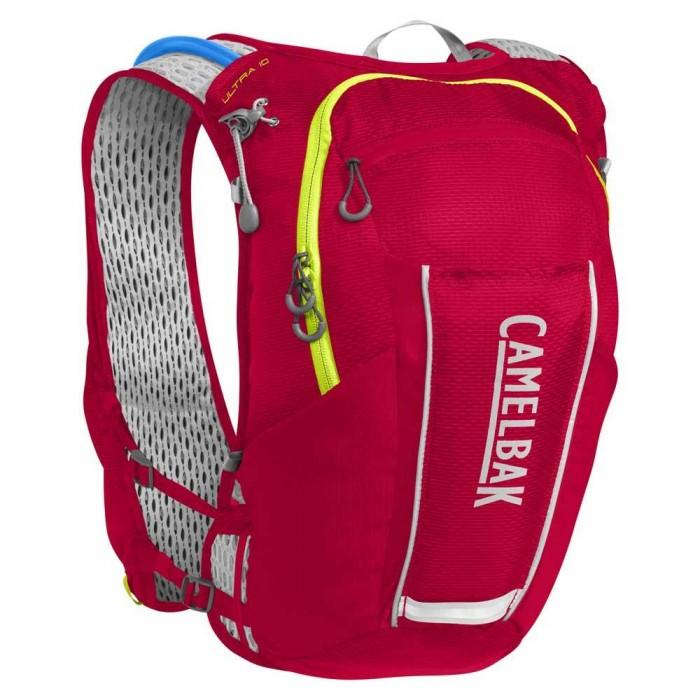 [해외]카멜백 Ultra 10L 6136734197 Crimson Red / Lime Punch