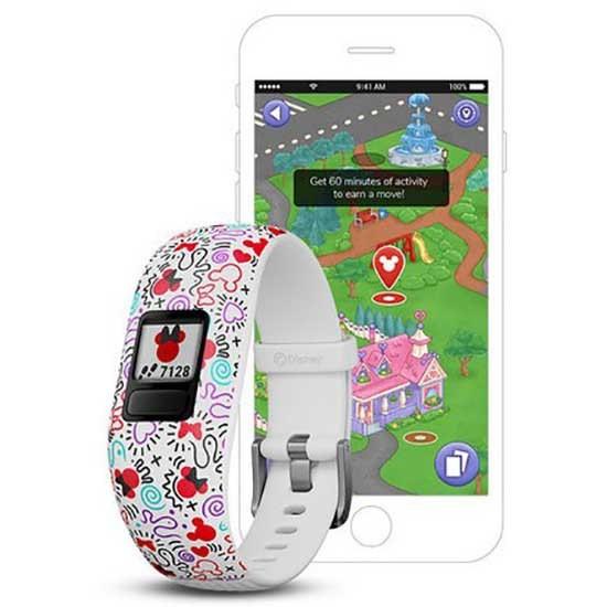 [해외]가민 Vivofit Junior 2 6136999042 White Minnie Mouse