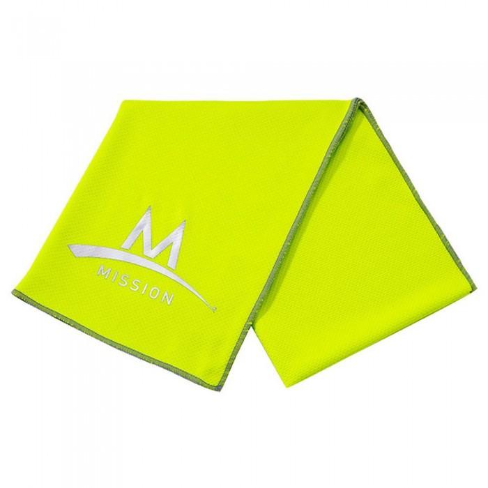 [해외]MISSION 엔듀라cool Large 테크knit High Vis Green