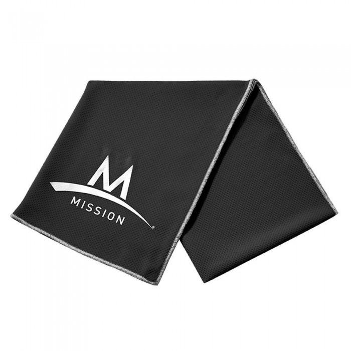 [해외]MISSION 엔듀라cool Large 테크knit Black
