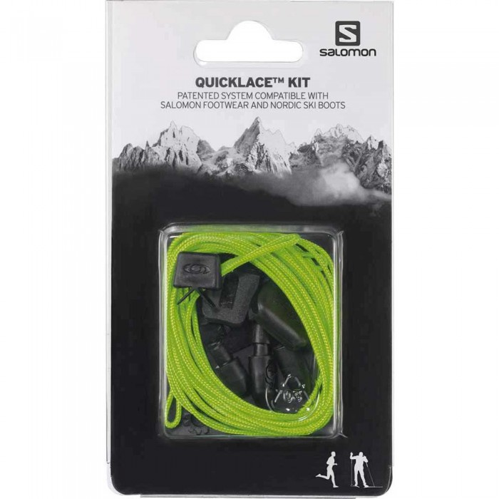 [해외]살로몬 Quicklace Kit Man6606075 Green