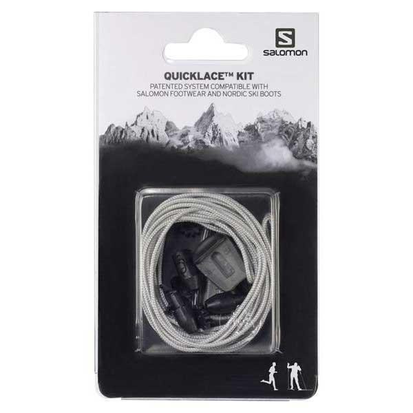 [해외]살로몬 Quicklace Kit Man6606076 Grey