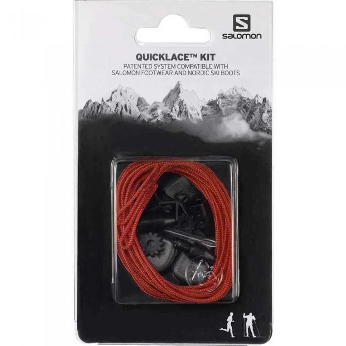 [해외]살로몬 Quicklace Kit Man6606078 Red
