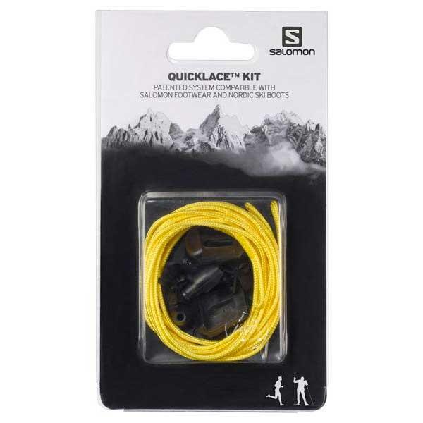 [해외]살로몬 Quicklace Kit Man6606079 Yellow