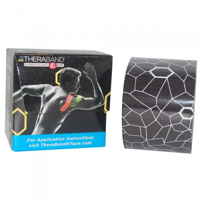 [해외]THERABAND Kinesiology Tape 5 m 6136470430 Black