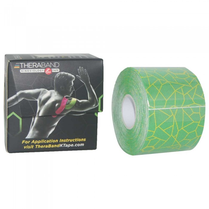 [해외]THERABAND Kinesiology Tape 5 m 6136470435 Green