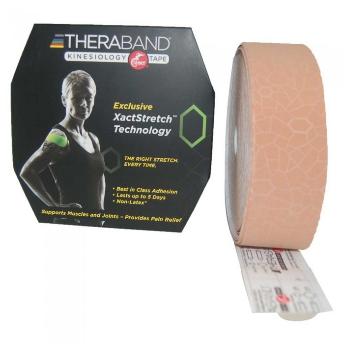 [해외]THERABAND Kinesiology Tape Precut 5 m 6136470442 Beige