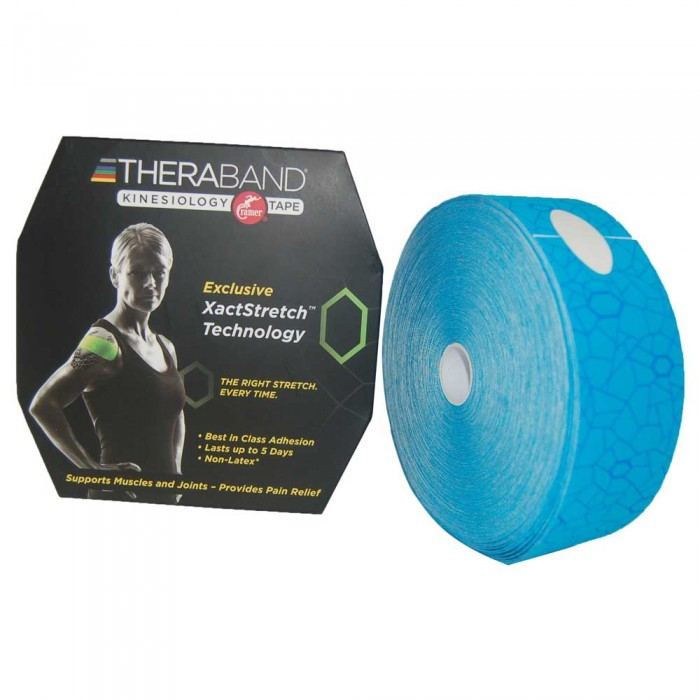 [해외]THERABAND Kinesiology Tape Precut 5 m 6136470443 Blue