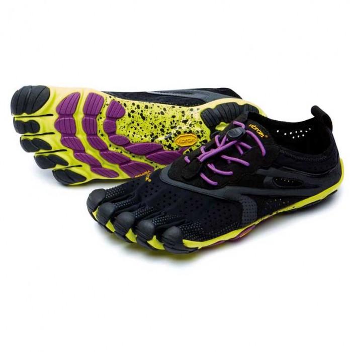 [해외]비브람 FIVEFINGERS Bikila EVO 2 6135983518 Black / Yellow / Purple