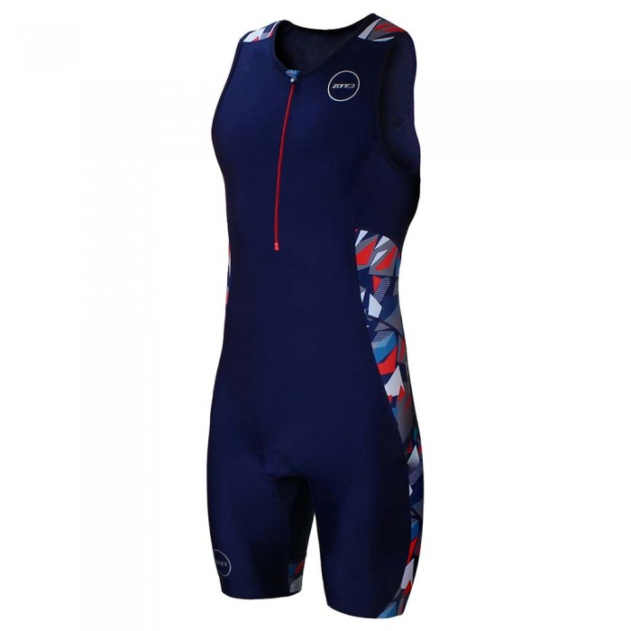 [해외]ZONE3 Activate Plus Trisuit Zinc Burst Zinc Burst