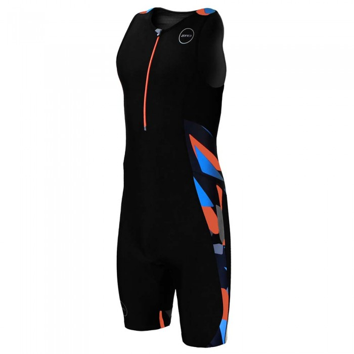 [해외]ZONE3 Activate Plus Trisuit Slleeveless Midnight Camo