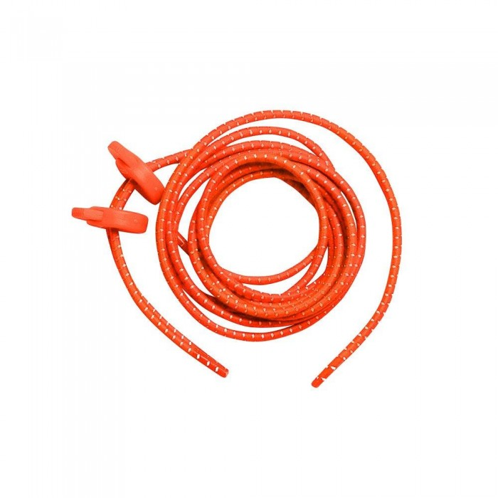 [해외]ZONE3 Elastic Laces Man6136719965 Neon Orange