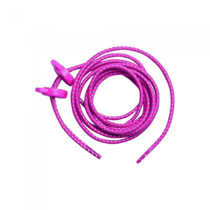 [해외]ZONE3 Elastic Laces Man6136719966 Neon Pink