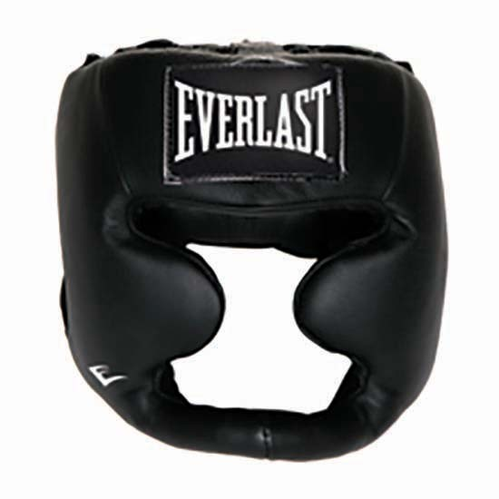 [해외]에버라스트 EQUIPMENT 레더 풀 Protection Headgear Black