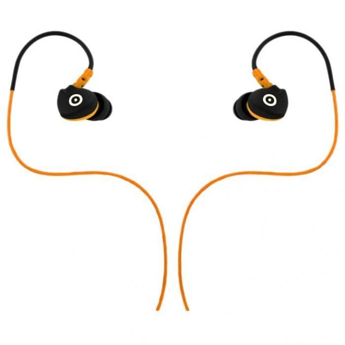 [해외]MUVIT 스포츠s 스웨트 Resistant Headphone Orange