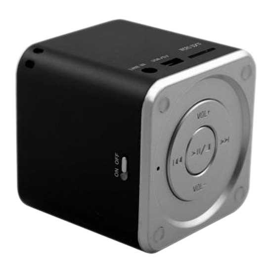 [해외]MUVIT 미니 블루투스 Stereo Speaker Black
