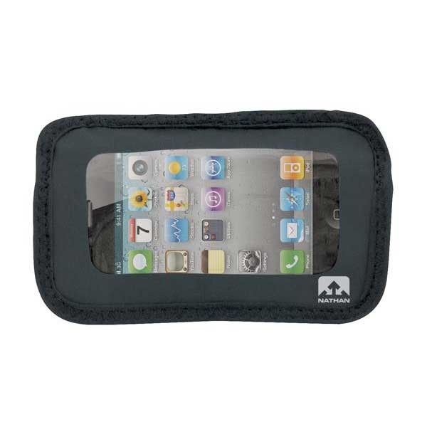 [해외]NATHAN Weather Resistant Phone Pocket 7588812 Black