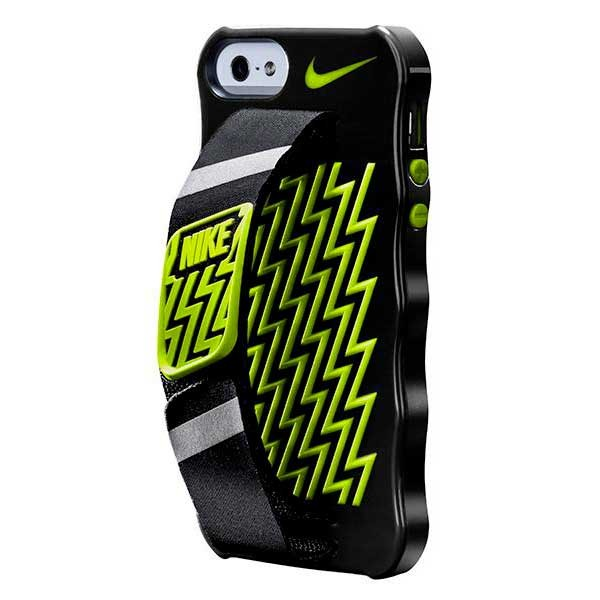 [해외]나이키 ACCESSORIES Handheld Iphone Case For Iphone 7661346 Black / Volt