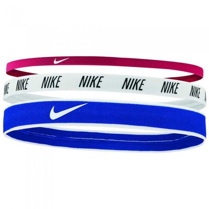 [해외]나이키 ACCESSORIES Mixed Width Headbands 3 Pack 7137047000 Gym Red