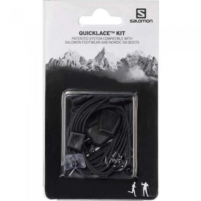 [해외]살로몬 Quicklace Kit 7606074 Black