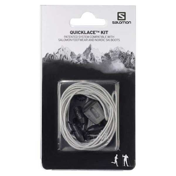 [해외]살로몬 Quicklace Kit 7606076 Grey