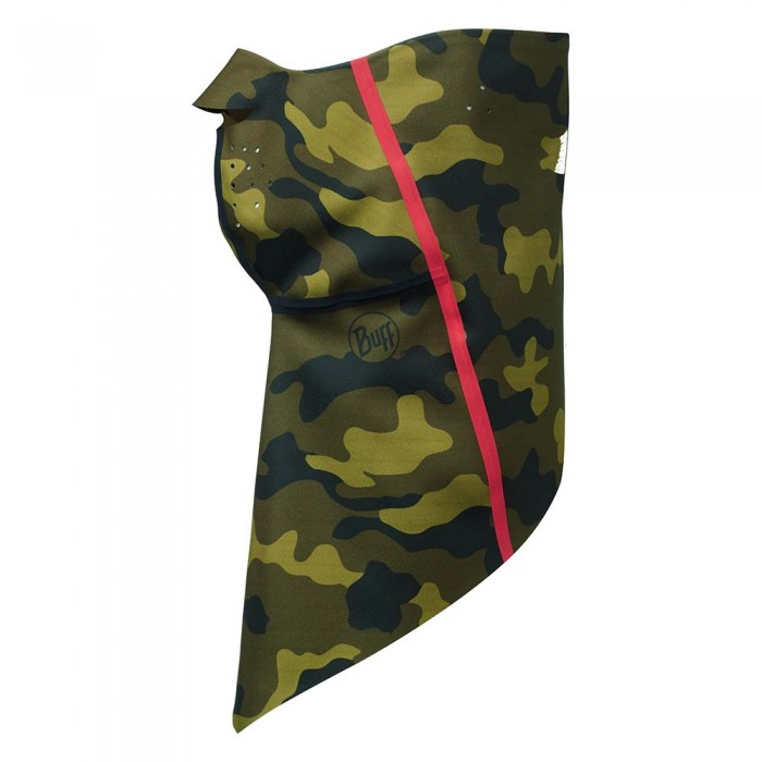 [해외]버프 ? Windproof Bandana 12136210455 Green Hunt Military