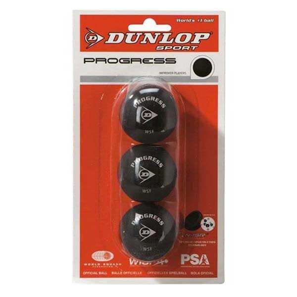[해외]던롭 Progress Squash Balls 12108243 Black