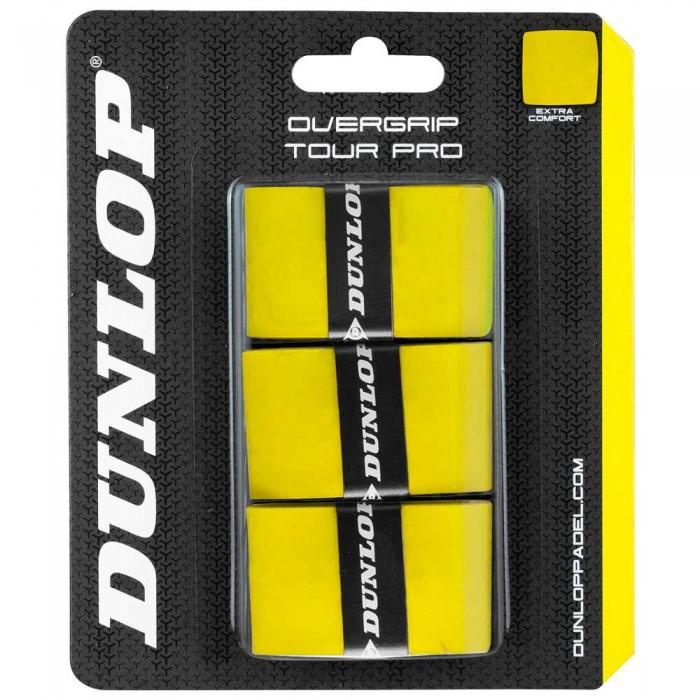 [해외]던롭 Tour Pro 3 Units Yellow