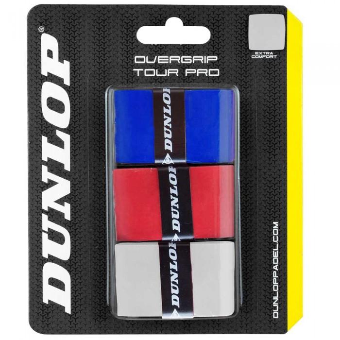 [해외]던롭 Tour Pro 3 Units White / Red / Blue
